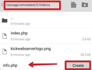 webserver-android